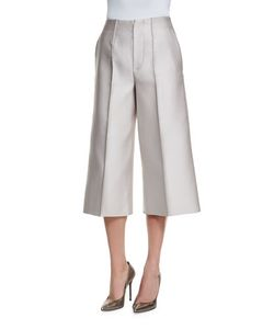 Co | Wide-Leg Cropped Pants