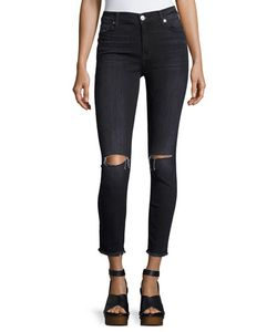 7 For All Mankind | High-Waist Ankle Skinny Jeans
