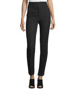 Costume National | High-Waist Skinny Ankle Pants