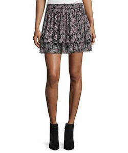 Derek Lam 10 Crosby | Tiered Silk Skirt