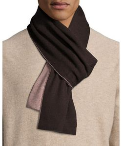 Portolano | Two-Tone Knit Scarf Heather Charcoal/Light Heather