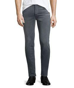 Hudson   Sartor Turnstone Washed Skinny-Leg Denim Jeans