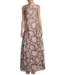 Karl Lagerfeld | -Print Lace-Tulle Gown