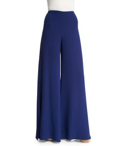 Ralph Lauren Collection | Adele Bicolor Wide-Leg Pants
