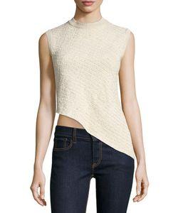 Ralph Lauren Collection | Sleeveless Asymmetric-Hem Top