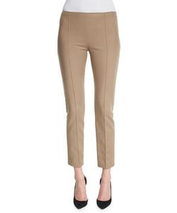 The Row | Soroc Mid-Rise Skinny Cropped Pants