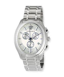 Versace | 48mm Bond Street S Oval Chronograph Watch