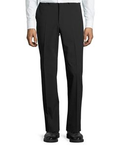DKNY | Wool-Blend Straight-Leg Trousers