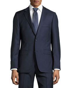 DKNY | Slim-Fit Solid Wool Two-Piece Suit
