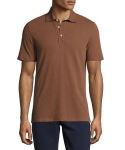 Brunello Cucinelli | Solid Short-Sleeve Polo Shirt