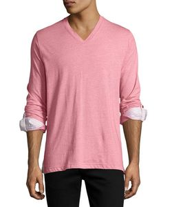 Maceoo | V-Neck Wavy Cotton Top