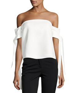C/Meo | Charged Up Off-The-Shoulder Top
