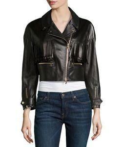 Jason Wu | Leather Fringed Motorcycle Jacket