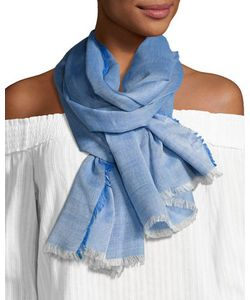 Michael Stars | Cotton-Blend Printed Fringe Scarf