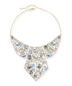 Alexis Bittar | Crystal Mosaic Lace Bib Necklace