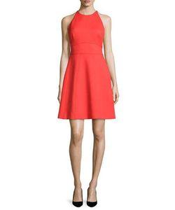 Lela Rose   Modified-Halter Fit--Flare Dress