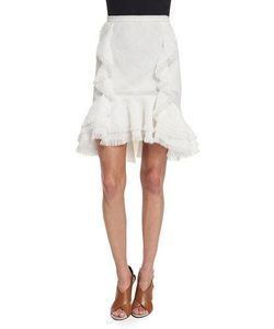 Jason Wu | Ruffled Fit--Flare Skirt
