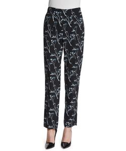 Thakoon Addition | Silk Ankle Pants
