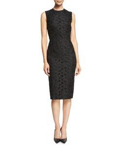 Victoria Beckham | Sleeveless Lace-Front Sheath Dress