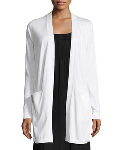 Lafayette 148 New York | Silk-Blend Long Cardigan