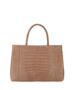 Nancy Gonzalez | Medium Sectional Crocodile Tote Bag