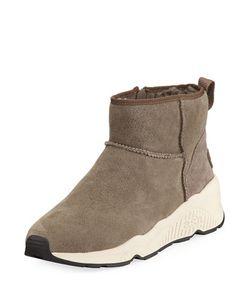 Ash | Miko Nubuck Zip Bootie Sneaker