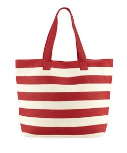 San Diego Hat Company | Wide Striped Tote Bag
