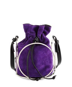 Costume National | Suede Bucket Bag