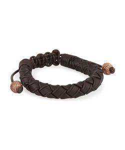 Stephen Webster | S No Regrets Woven Leather Bracelet
