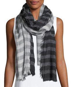 Michael Stars | Two-Face Striped Linen Wrap