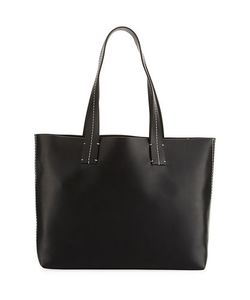 French Connection | Farrah Topstitch Leather Tote Bag