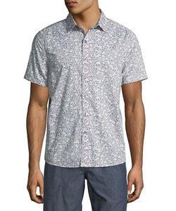 Michael Bastian | Bubble Camo-Print Sport Shirt