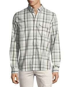 Michael Bastian | Long-Sleeve Plaid Sport Shirt