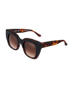 Thierry Lasry | Intimacy Squared Cat-Eye Sunglasses Tortoise