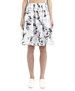 Jil Sander | Organza Pleated Skirt