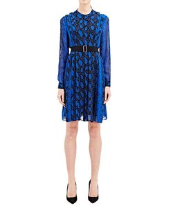 Proenza Schouler | Long Sleeved Printed Dress