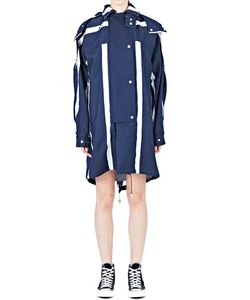 E. Tautz | Striped Broadstairs Parka Jacket