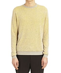 Jil Sander | Crew Neck Bi Colour Sweater