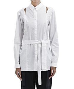 Silent Damir Doma   Damir Doma Silent Belted Syrma Shirt