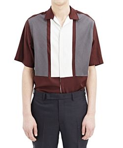 Lanvin   Short Sleeved Patch Shirt