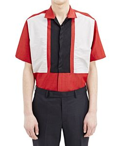 Lanvin | Short Sleeved Patch Shirt