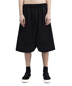 Nicomede Talavera | Wide Satin Shorts