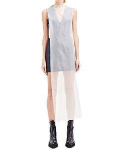 Yang Li   Denim And Silk Ghost Dbf Dress