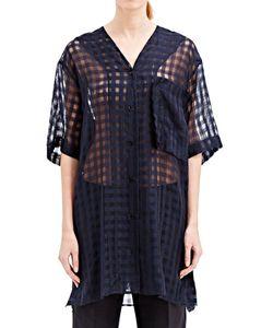 Yang Li   Roxa Oversized Transparent Shirt