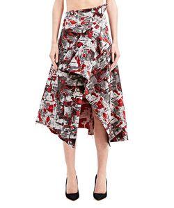 Aganovich | Printed Woven Skirt