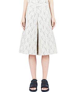 Marni   Printed Wide Leg Shorts