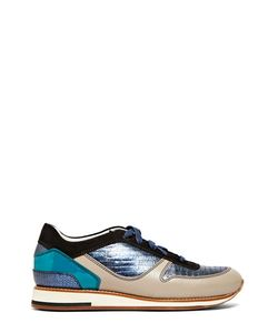 Lanvin | Leather Running Sneakers