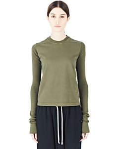 Rick Owens DRKSHDW | Crew Neck Level Sweater