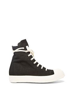 Rick Owens DRKSHDW | Embroidered High Sneakers