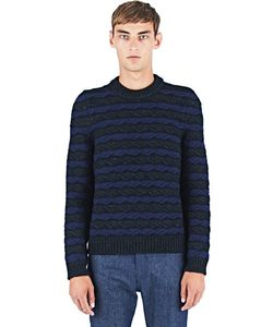 Raf Simons | Knitted Round Neck Sweater